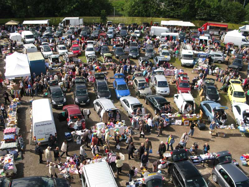 Saturday Car Boot Sales North East
